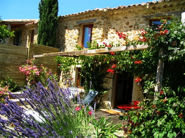 Photo Gallery of our cottages and trailer in Drôme Provençale | Les ...